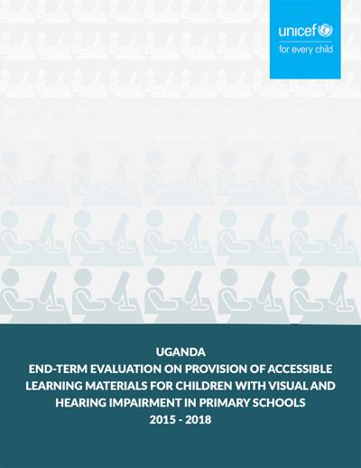 Cover page of Document for Uganda Report