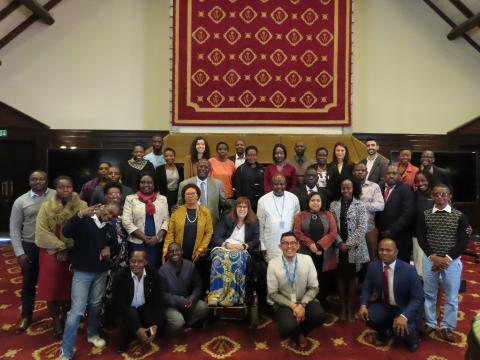 Group photo of the participants in the inception meeting in Nairobi, Kenya