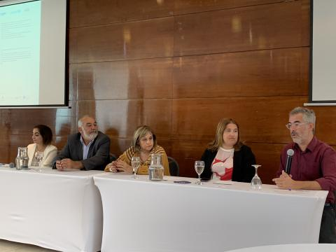 Panel of experts for inception meeting in Montevideo, Uruguay