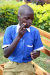 Gerald Omeri, a 12-year-old pupil in Primary Five with a hearing impairment, explaining how the devices have been useful to him.