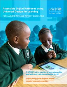 UNICEF Accessible Digital Textbooks Guidance Document 2019
